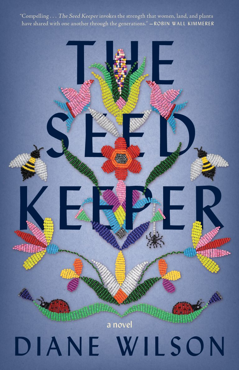 The Book Cover Art of The Seed Keeper by Diane Wilson